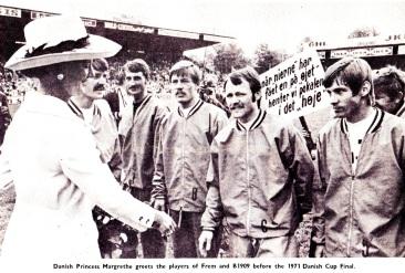 Danish Cup Final, 1971