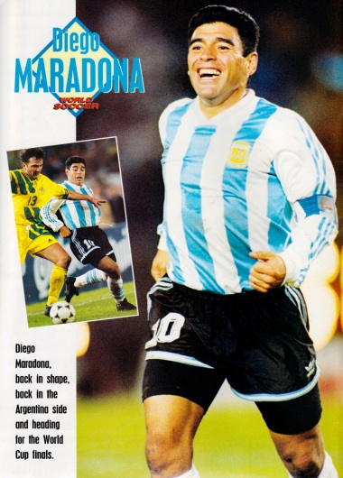 Diego Maradona, Argentina 1993