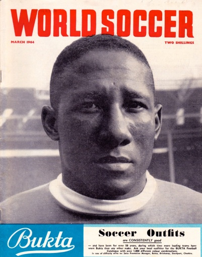 Djalma Santos, 1964 World Soccer cover