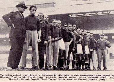 England v Italy 1934