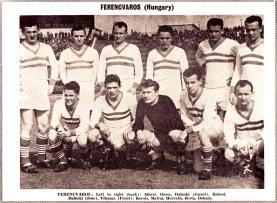 Ferencvaros 1961