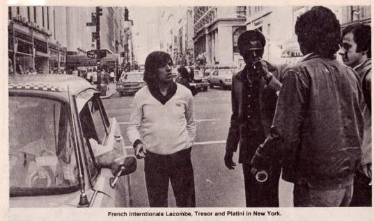 France in New York, 1979