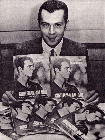 Franz Beckenbauer promotes his book, 1968