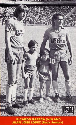 Gareca & Lopez, Boca Juniors 1983