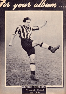 George Robledo, Newcastle Utd 1951