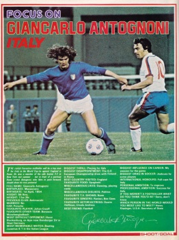 Giancarlo Antognoni, 1976