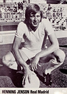 Henning Jensen, Real Madrid 1976