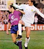 Leeds United v Anderlecht, 1975