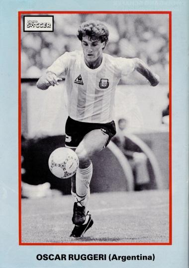 Oscar Ruggeri, Argentina 1986