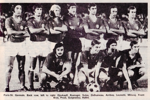 Paris St.Germain 1972