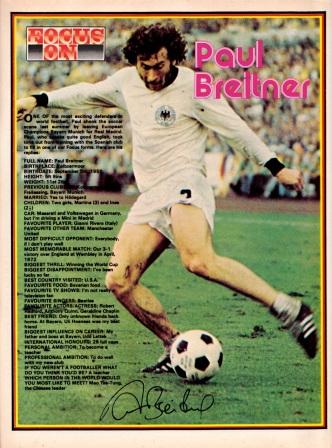 Paul Breitner, 1974