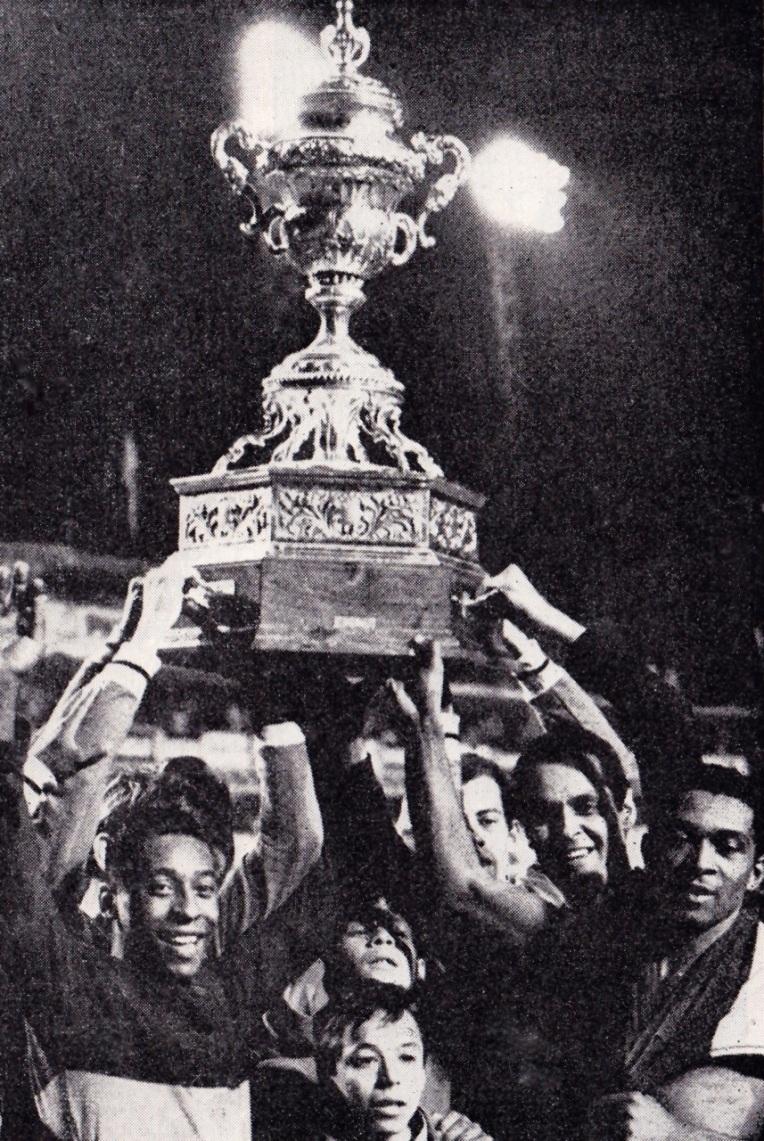 Pele in Buenos Aires tournament, 1968