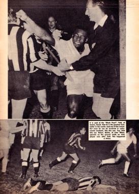 Pele v Internazionale, Santos 1963