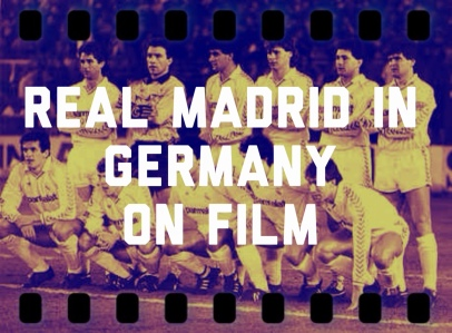 Real Madrid In Germany On Film