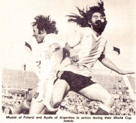 Ruben Ayala, World Cup 1974