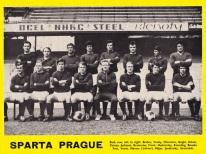 Sparta Prague 1970