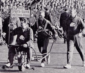 Sparta Prague v Slavia Prague, 1965