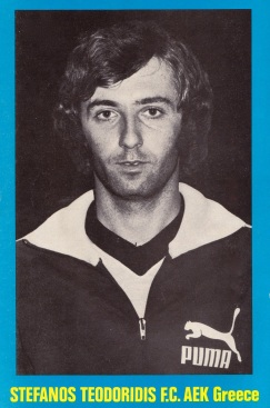Stefanos Teodoridis, AEK Athens 1975