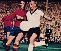 West Germany v Spain 1970