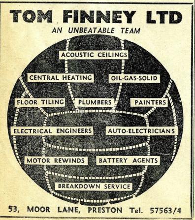 Tom Finney's Plumbing Business