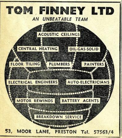 Tom Finney's Plumbing Business