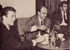 Alfredo Di Stefano takes tea in Troon, 1965