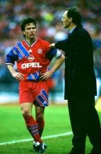 Beckenbauer and Matthaus, Bayern Munich 1994