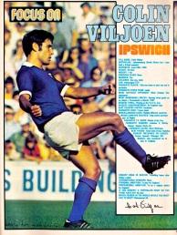 Colin Viljoen, Ipswich Town 1974