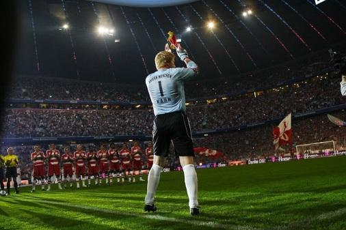Oliver Kahn, Bayern Munich farewell, 2008