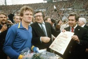 Sepp Maier, Bayern Munich farewell 1979