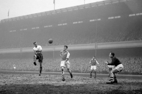 Tom Finney, Arsenal v Preston North End, 1957