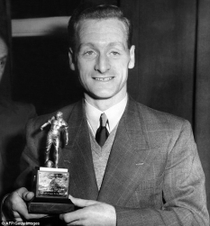 Tom Finney Footballer Of The Year, 1957