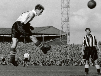 Tom Finney, Newcastle v Preston 1955