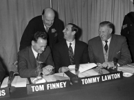Tom Finney & Tommy Lawton, 1963