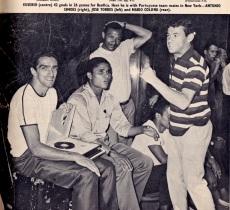 Torres, Eusebio, Coluna & Simoes in New York, Benfica 1968