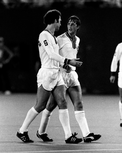 Cruyff & Beckenbauer, New York Cosmos 1978