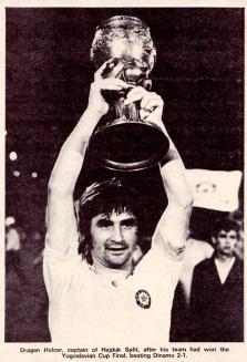 Dragan Holcer, Hajduk Split 1972