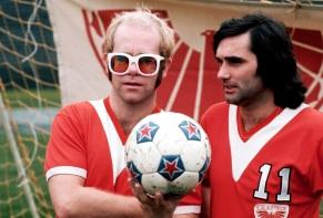 Elton John & George Best, LA Aztecs