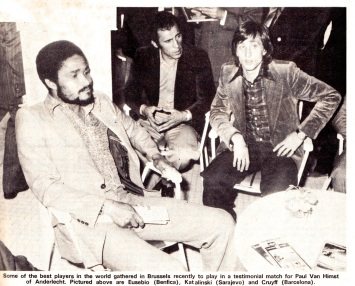 Eusebio, Katalinski & Cruyff 1975