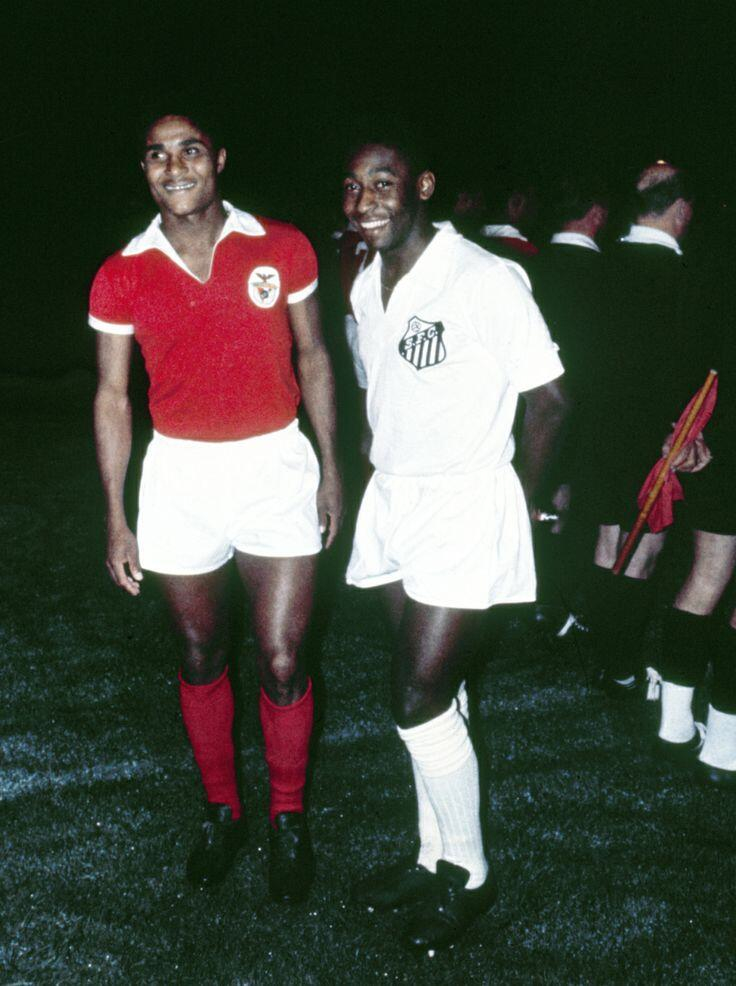 Eusebio & Pele, Benfica v Santos 1967