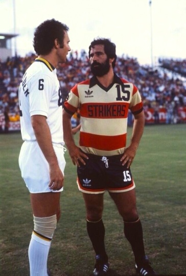 Beckenbauer & Muller, NY Cosmos & Fort Lauderdale 1980