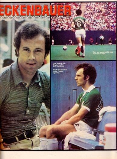 Franz Beckenbauer, New York Cosmos 1977
