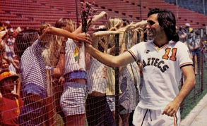 George Best, LA Aztecs 1977