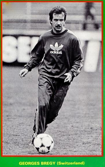 Georges Bregy, Switzerland 1985