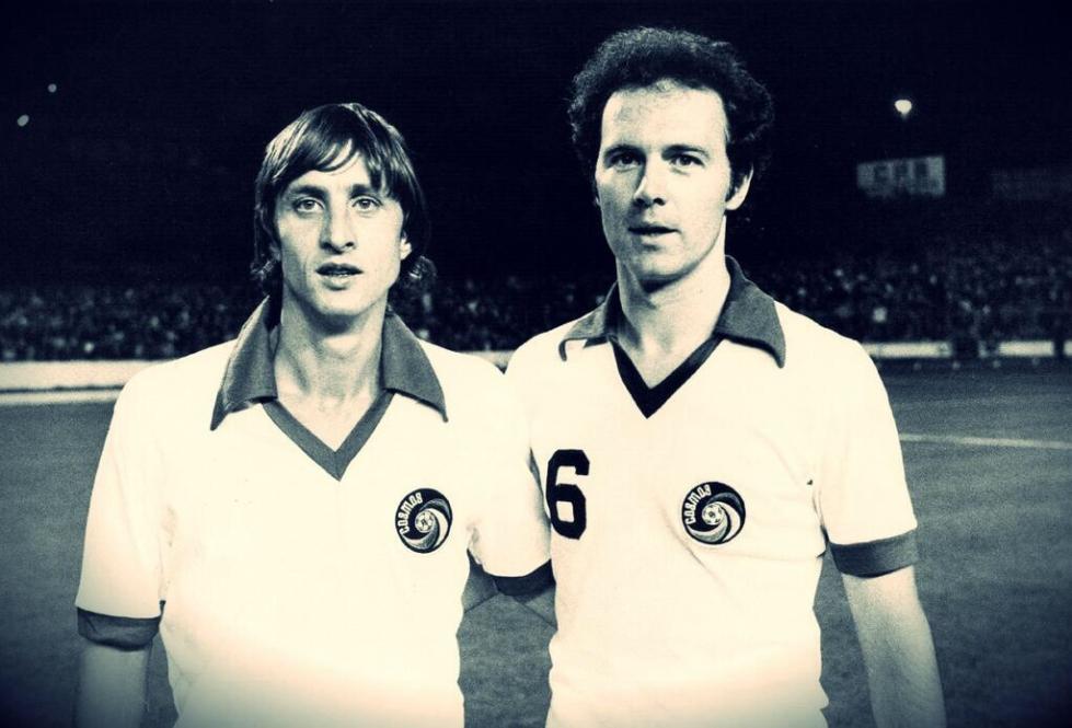 Beckenbauer & Cruyff, New York Cosmos