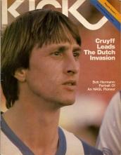 Johan Cruyff magazine cover, LA Aztecs