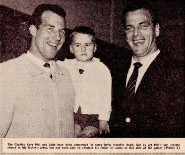 John and Mel Charles 1961