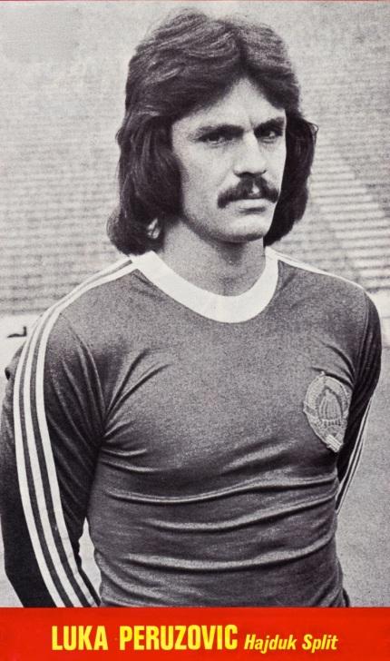 Luka Peruzovic, Hajduk Split 1977