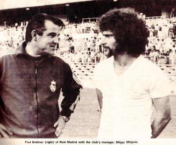 Miljan Miljanic, Real Madrid 1975