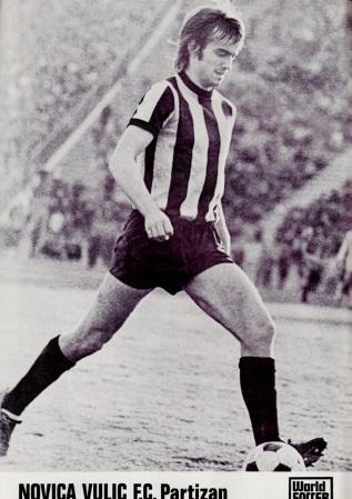 Novica Vulic, Partizan Belgrade 1975